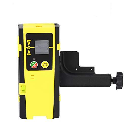 Firecore Laserempfänger FD20 Laserdetektor für Puls-Kreuzlinienlaser, Laser Receiver für Rote und Grüne Laserstrahlen, LED-Anzeigen, Automatischer Abschalttimer, mit Stangenklemme