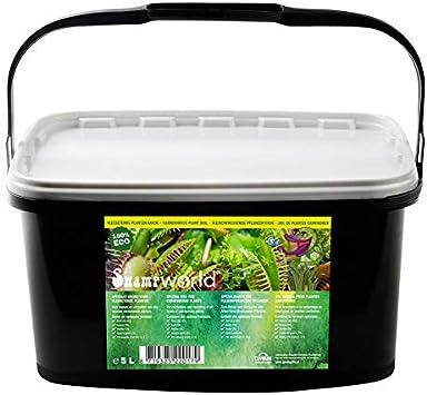 Swampworld Moos Boden f/ür Feischfressende Pflanzen Spagnum 500ml
