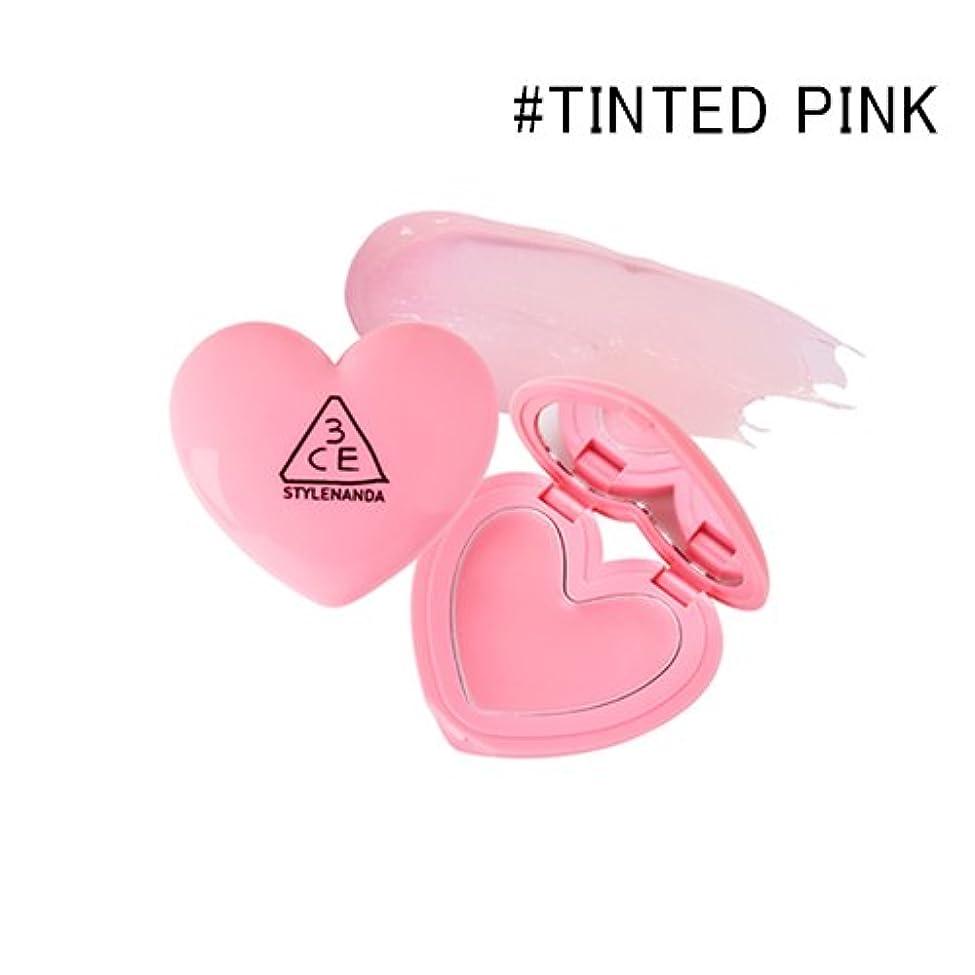 ハッチ虹環境に優しい3CE ハート ポットリップ / HEART POT LIP (1.4g) (TINTED PINK) [並行輸入品]