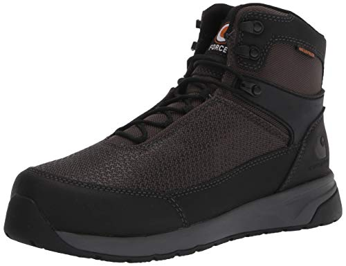Carhartt Men's Force 3' Static Dissipative Oxford Nano Composite Toe Cmd3441 Industrial Boot, Black Mesh & Synthetic, Numeric_11 Wide