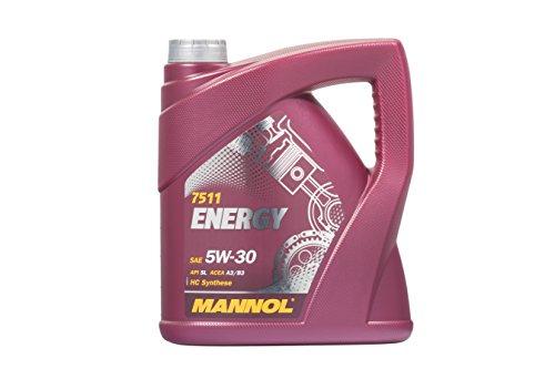 MANNOL Energy 5W-30 API SL ACEA A3/B3, 4 Liter