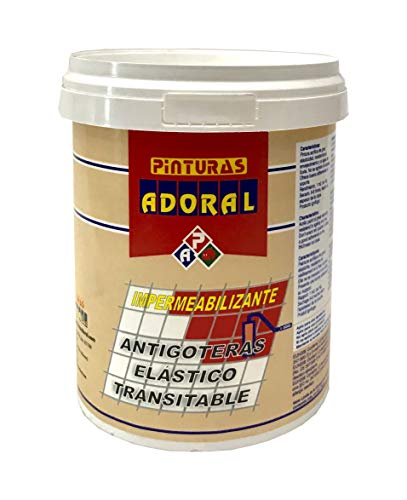 ADORAL - Pintura tela asfáltica líquida 750 ml. (Negro)