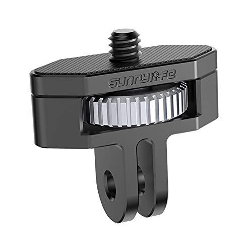 KESOTO 1/4 Adaptador de Cámara de Estilo Moderno Tornillo Roscado Regalo de Aleación de Aluminio para Amigos