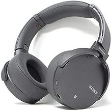 Sony XB950N1 Extra Bass Wireless Noise Cancelling Over-the-Ear Headphones - Titanium