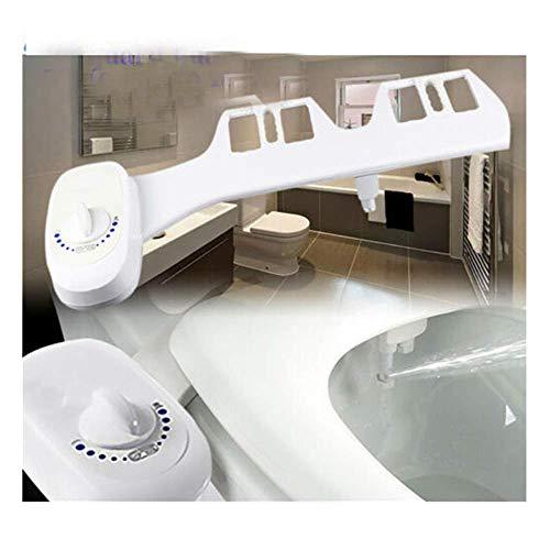 Bidet Aufsatz, Toilettenaufsatz mit Frischwasserspray und Selbstreinigender Düse,Nicht Elektrisch,Sparen Sie Toilettenpapier,Water Bidet Dusch-WC,Non-Electric Mechanical Toilet Attachment
