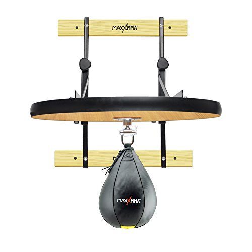 MaxxMMA Heavy Duty Adjustable Speed Bag Platform Kit + Speed Ball