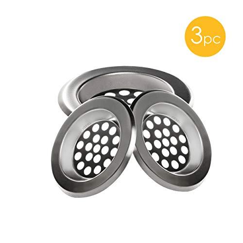 OFXDD Waschbecken Abflusssieb für Waschbecken, Abflussschutz, klein, 6,4 cm, 3 Stück
