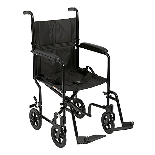 Drive Medical Deluxe Lightweight Transport Chair