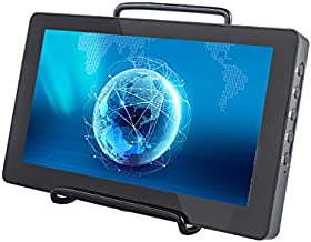 Raspberry Pi Touchscreen - SunFounder 7 Inch Capacitive Screen IPS Monitor LCD Display Supports HDMI USB-C for Raspberry Pi 4B 3B+ 2 Model B Windows with Bracket