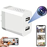 Hidden Spy Camera - WiFi Hidden Cameras - Hidden Camera with Live Feed WiFi - Spy Cameras - Home Mini Nanny Cam Hidden Camera with Video Recording - Spy Camera Wireless Hidden with Remote Access