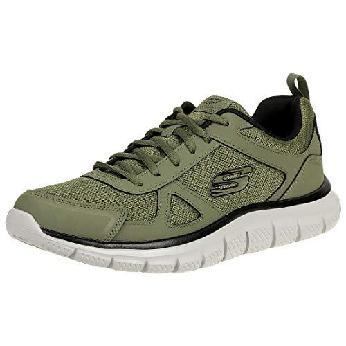 Skechers Track-scloric 52631-bkrd - Zapatillas de gimnasia bajas para hombre Size: 43 EU