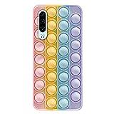 Hnzxy Push Pop Bubble Sensory Fidget Toy Coque pour Huawei Honor 20 Lite,Huawei Honor 20 Lite Coque...