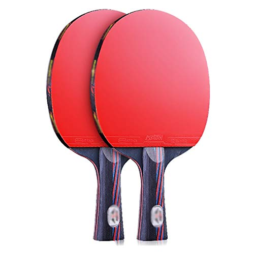 Review Of Table Tennis Sets Upgraded Version of Table Tennis Racket Double Shot Professional Competi...
