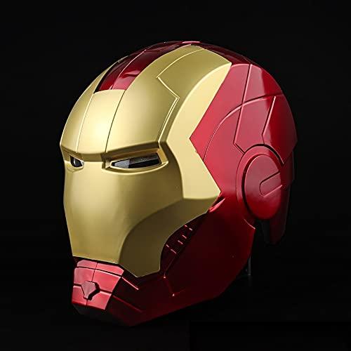 Casque Electronique Iron Man Marvel Avengers Iron Man Deluxe pour Enfant Accessoire de Costume de Masque, Garçon, Taille Unique