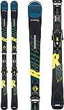 Rossignol React R8 HP/NX 12 GW Ski Package Mens Sz 177cm Black/Yellow