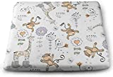 ADGoods Quadratisches Sitzkissen Monkey Seat Cushion Pads Memory Foam Chair Pad Reversible Square Seat Cover Delicate Printing