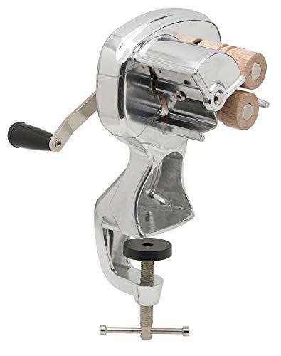 Fante's 15500 Cavatelli Maker Machine for Authentic Italian Pasta, Aluminum, Silver