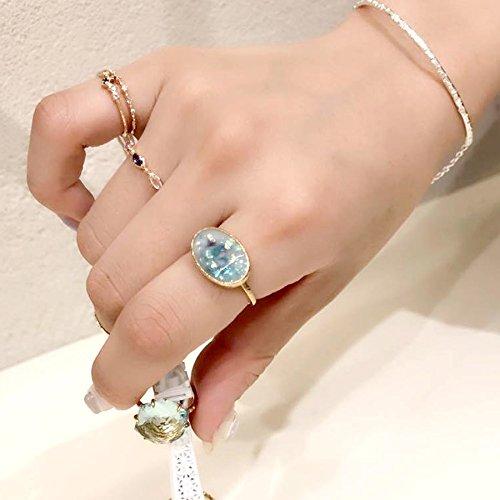 [ノジェス]NOJESS【K10ゴールド・5粒ダイヤ・ピンキーリング】3016111102500003日本サイズ3号