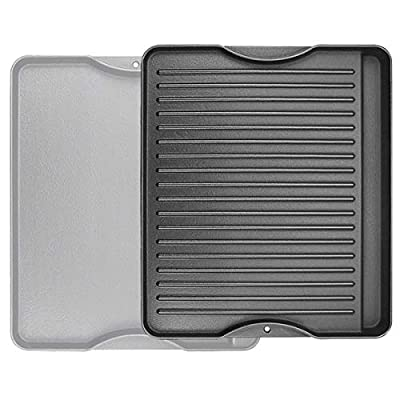 """Utheer Reversible Grill Griddle for All Camp Chef 14"""" & 16"""" Stoves Cast Iron Griddle, 1 Pack"""