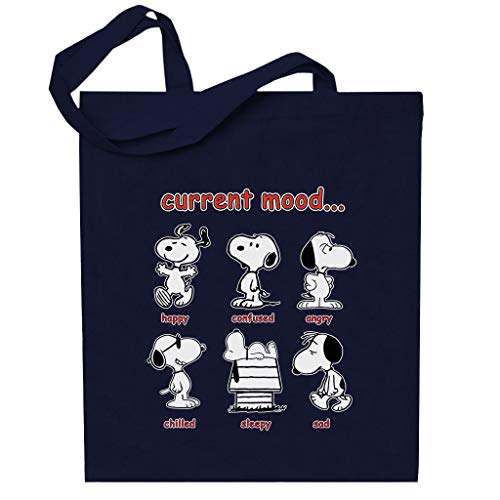 Cloud City 7 Snoopy Current Mood Totebag