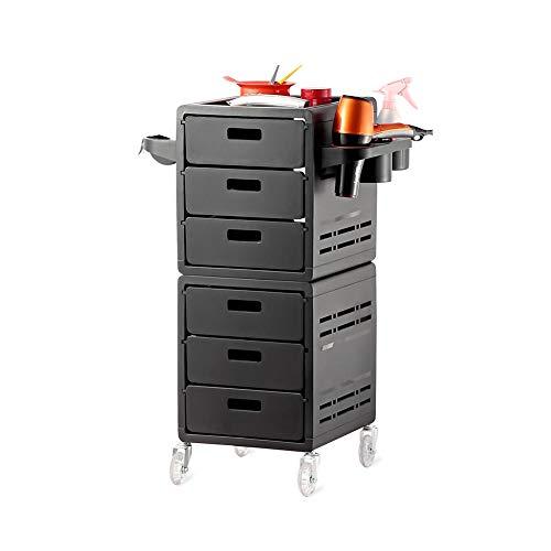 6 tiroirs Panier Salon De Coiffure Esthéticienne Plus Chariot Coiffeur MOBILIER Beauté Esthétique Coiffure Massage Table DE Service a