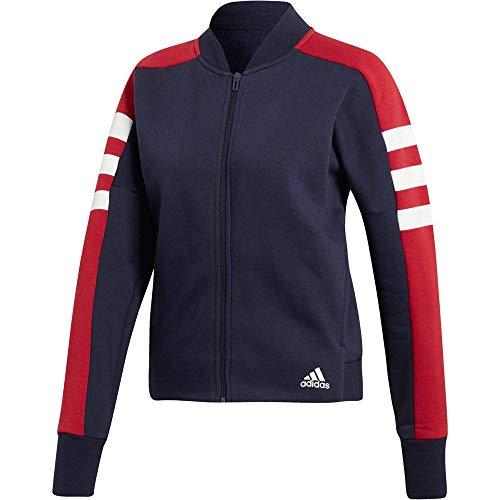 adidas Performance Sport ID Jacke Damen blau/rot, M
