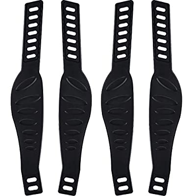 2 Pairs Exercise Bike Pedal Straps Universal Pedal Straps for Spinning Exercise Cycle Home or Gym, 2.24 x 12.99 Inch