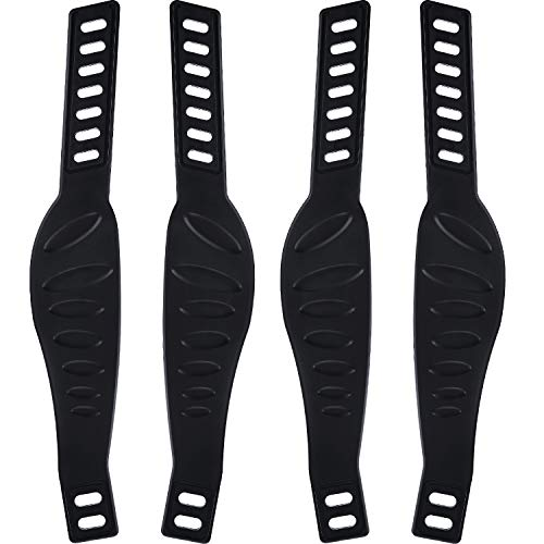 2 Pairs Exercise Bike Pedal Straps Universal Pedal Straps for Exercise Cycle Home or Gym, 2.24 x 12.99 Inch