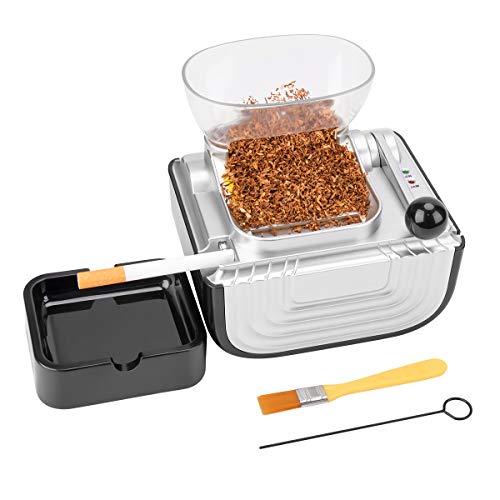 Gimify Elektrische Zigarettenrollmaschine C-91 Automatische Tabakinjektor-Hersteller-Walzenmaschine mit klarem Trichter