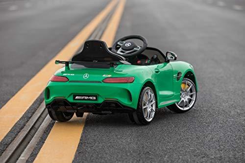 RC Auto kaufen Kinderauto Bild 4: Toyas Mercedes Benz GTR AMG Sportwagen KINDERFAHRZEUG KINDERAUTO Grün*