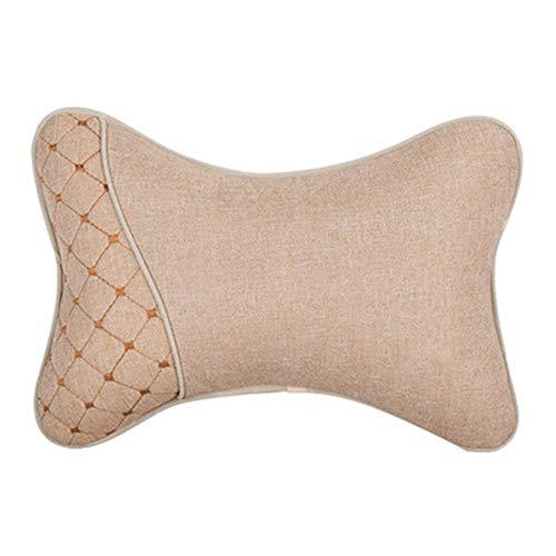 Almohada de cuello para coche, espuma de memoria de almohada de viaje, almohada de cuello para viajar o almohada de vuelo diseñada para