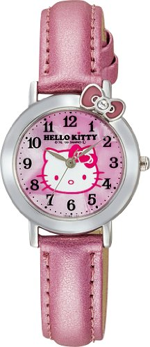Hello Kitty Classic Ribbon Analogue Watch (Pink) - Hello Kiity Watch (Lady/Girls Size)