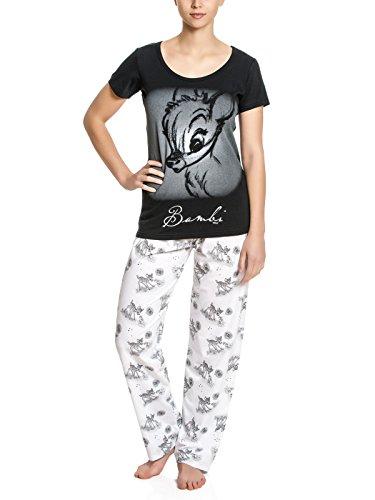 Disney original Bambi Girl Frauen Schlafanzug Pyjama Gr. S-XL (XL)