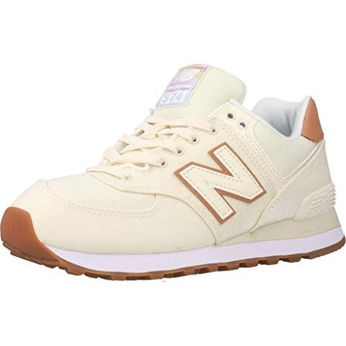 New Balance Damen 574v2 Sneaker, Elfenbein (Off Scb), 39 EU