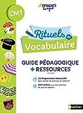 Rituels de vocabulaire - Guide pédagogique CM1 (+ matériel)