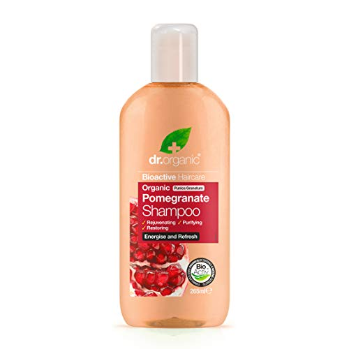 Dr. Organic Pomegranate Shampoo - 265 ml