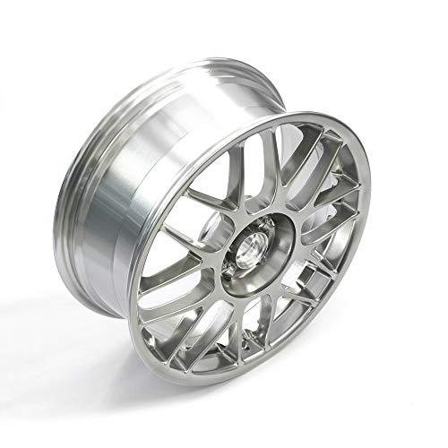 Volkswagen 1J0601025AM2ZQ aleación (1 Unidad), Aluminio GTI 25 años Aniversario 7.5Jx18H2 ET38 5/100, llanta de 18 Pulgadas