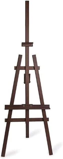 2021 spring and summer new HELLEN Solid Wood Walnut Oakland Mall Easel Ad Sketch Stand Display Oil
