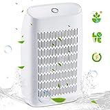 Dehumidifier, Portable Mini Dehumidifiers 700ml Water Tank(215 sq ft) Super Quiet Electric Small