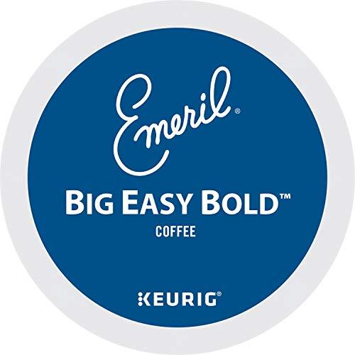Emeril Big Easy Bold, Single-Serve Keurig K-Cup Pods, Dark Roast Coffee, 96 Count