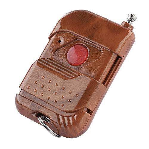 Control Remoto de relé de RF inalámbrico, Receptor de Interruptor de 1/2/3/4 Botones, transmisor Remoto de RF inalámbrico para Controlador de Acceso(1 Key)