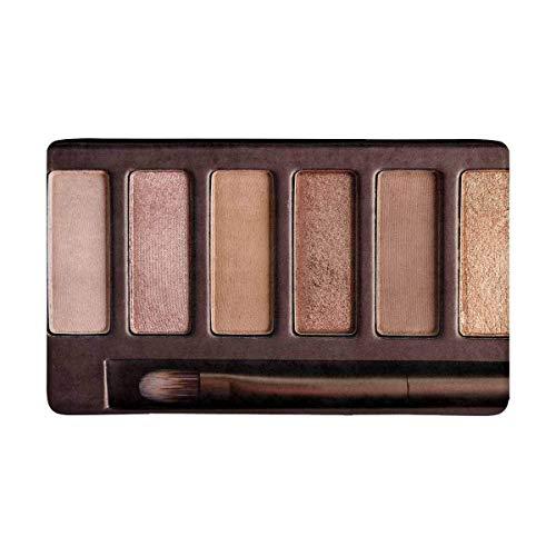 Kanaite lustige Bunte Lidschatten-Palette Make-up-Produkte Fußmatte Anti-Rutsch-Eingangsmatte Boden...