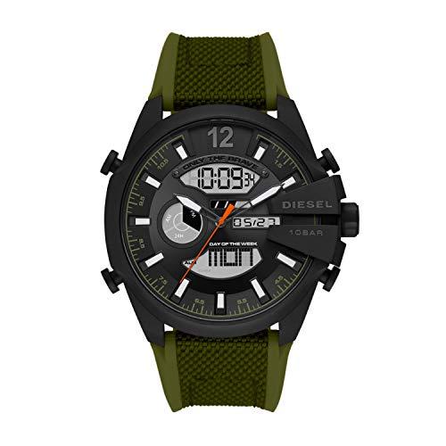 Diesel Reloj Analógico para de los Hombres de Digital con Correa en Nailon DZ4549