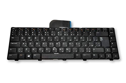 Dell XPS 15-L502x, Inspiron 14z N411z, 14r N4110, Vostro V131 2420 2520 3350 3450 3460 3550 3555 3560, Inspiron 15/15R 5520 7520 N5040 M5040 N5050 M5050 Arabic Non-Backlit Keyboard 9HRP9