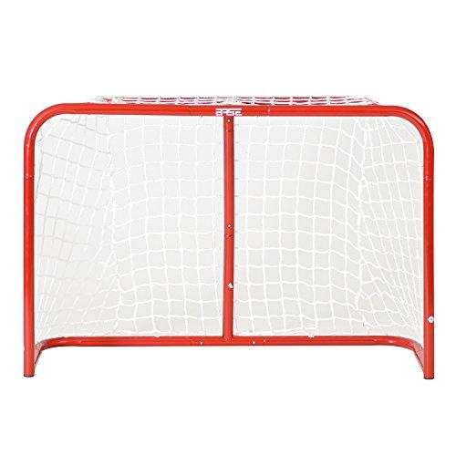 Base Unisex Erwachsene Goal 32 Zoll Inkl. 2 Ministicks And Softball Streethockey Tor, rot, Zoll EU
