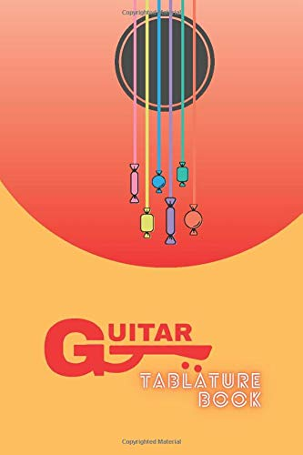 Guitar Tablature Book: Blank Tab Writing Paper with Chord Diagrams, Handy Sized 6'x9', Smart Songwriting Journal, Music Composition Diary, Valuable Keepsake c/w Sketchbook, Graph Paper, Ruled Notebook