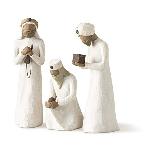 Willow Tree Figurine I Re Magi, Resina, Design di Susan Lordi