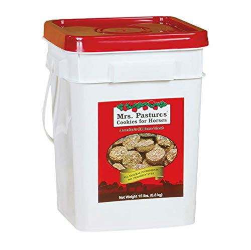 Horse | Mrs. Pastures Cookies for Horses – (15lb Bucket), Gym exercise ab workouts - shap2.com