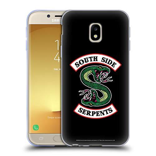 Head Case Designs Oficial Riverdale Serpientes del Lado Sur Arte Gráfico Carcasa de Gel de Silicona Compatible con Samsung Galaxy J3 (2017)