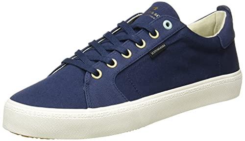SCOTCH & SODA FOOTWEAR Abra Low Lace Shoes, Zapatillas Hombre, Blue Night, 42 EU